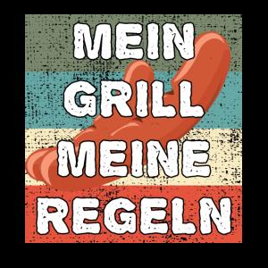 Mein Grill Meine Regeln Retro