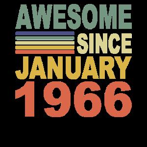 1966 Jahr Geburtstag Awesome since January 1966