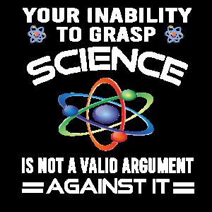 Ihre Unfähigkeit, die Wissenschaft zu erfassen
