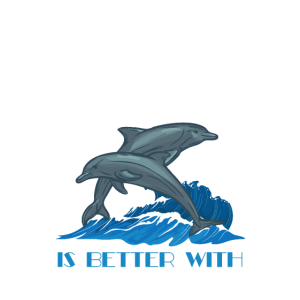 Marine Mammal Animal Life Is Better With Dolphins