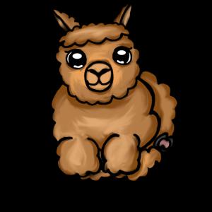 Alpaka Lama- Süßes Alpaka