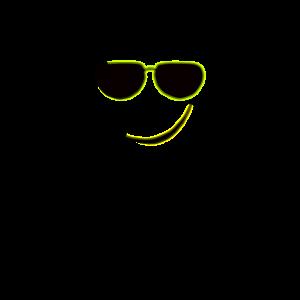 Smilie mit Sonnenbrille / Tshirt Emoji