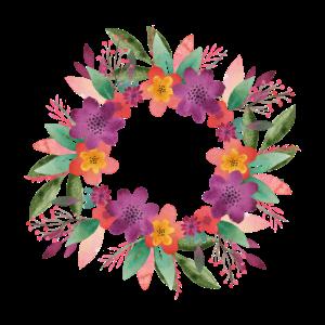 Blumen Junggesellinnenabschied Kreis Geburtstag