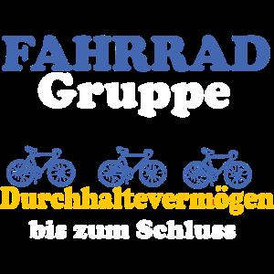 Fahrrad Gruppe