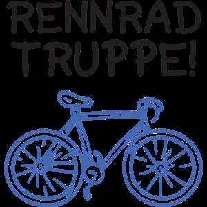 Rennrad Truppe Fahrradtour Gruppen Team