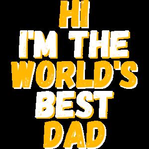 Bester Dad Papa Vatertag Vater Lieblingspapa