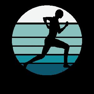 Jogging Retro Silhouette