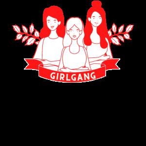 Girlgang Feministin Support Girls Berlin Girlpower