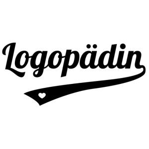 Logopädin schwarz