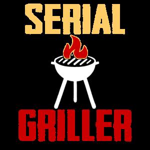 Serial Griller BBQ König, gegrillter BBQ Grill