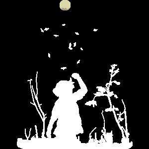 Mond Sterne Nachthimmel Geschenk dunkel