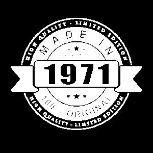 HERGESTELLT IM JAHR 1971