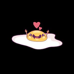 suesser, niedlicher spiegelei / cute egg