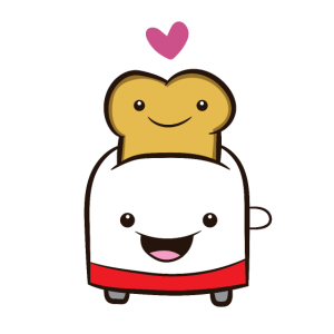 Toaster Toastbrot Toaster Kawaii Toaster
