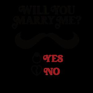 Marriage proposal Heiratsantrag
