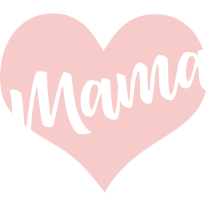 Mama Herz - Muttertag Geschenk rosa
