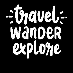 Reisen Wandern Erkunden