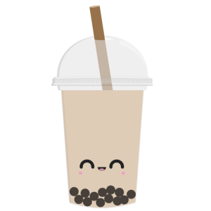 Kawaii Bubble Tea Milk Tea
