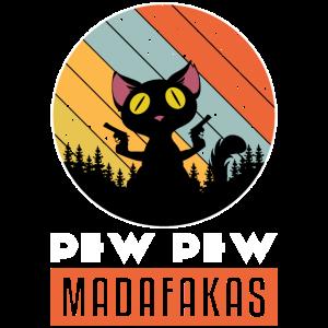 PEW PEW Katze
