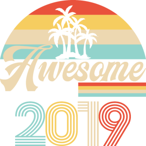 Vintage Awesome Since2019 Geburtstag Retro seashel