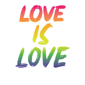 Homosexuell Love is Love Regenbogen