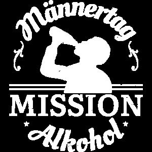 Männertag Mission Alkohol Männerabend Himmelfahrt