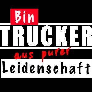Trucker Lkw-Fahrer aus Leidenschaft
