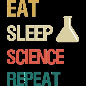 Essen Sie Schlafwissenschaft wiederholen