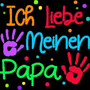 Ich Liebe Papa Lieblingspapa Vatertag Bester Dad