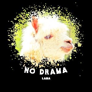 Es zeigt ein Drama Lama Design
