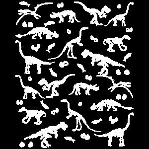 Archäologie Dinosaurier Skelett