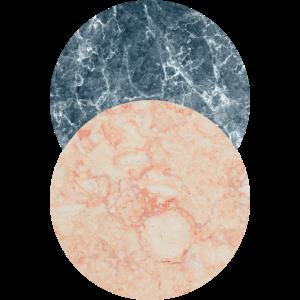 Marmor Kreise Geometrisch Formen Grafisch Geschenk
