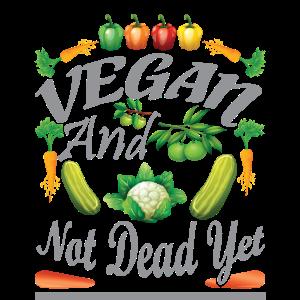 Vegan und noch nicht tot