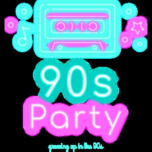 90s Party Neon