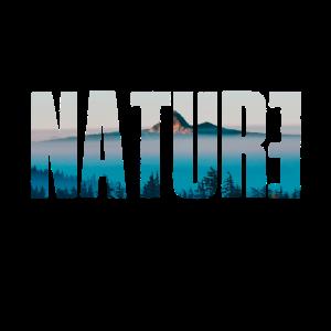Nature blau