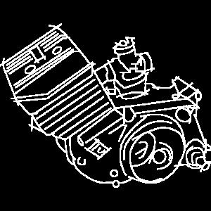 Simson S51 Motor, Moped, Simsonfahrer
