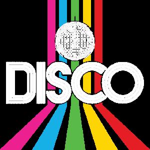 Disco 80's Party Retro 80er Discokugel Geschenk