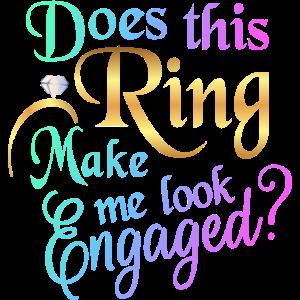 Lässt mich dieser Ring verlobt aussehen?