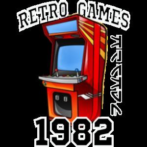 Retro Computer Game Arcade