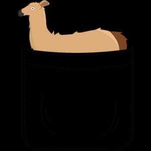 Lama Alpaka Brusttasche