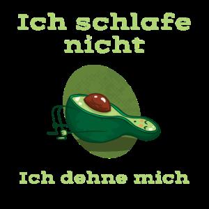 Avocardio Sport Dehnen Schlafen Avocado