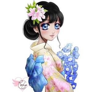 Amina in Japan
