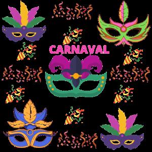 Karnevalsmasken
