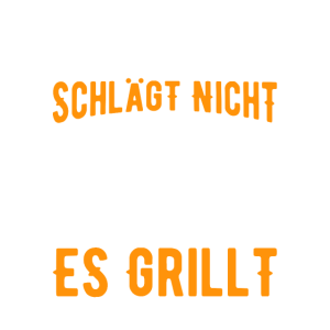 Grillen Mein Herz grillt Grillmeister Geschenk