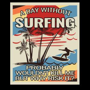 surfing gifts surfing accessories retro surf wave