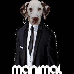 Hundekopf abstrakt Design