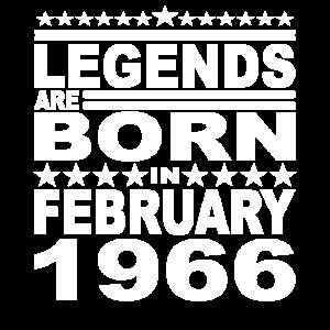 Legendär seit Februar 1966 Jahr 1966 Geburtstag