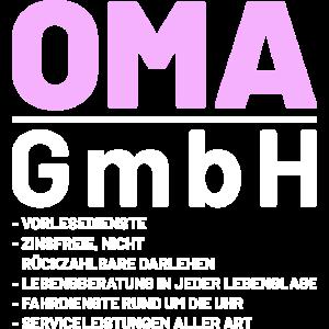 Lustige Oma GmbH Sprüche Geschenkidee