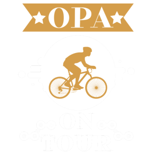 Opa on tour Opa Fahrrad Tour Fahrrad fahren Enkel