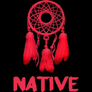 Traumfänger-Design der Ureinwohner